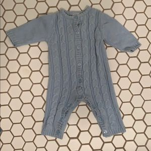 4/$20 Zara Baby cable knit onsie